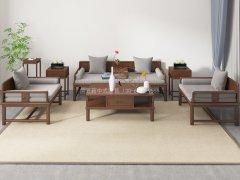 新中式沙发组合R-2352