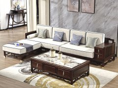 新中式沙发组合R-2353