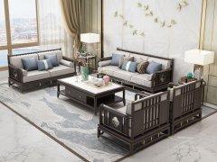 新中式沙发组合R-2354