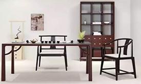 新中式茶台椅